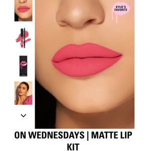 Kylie Cosmetics Makeup - Kylie Jenner Lip Kit | On Wednesdays|